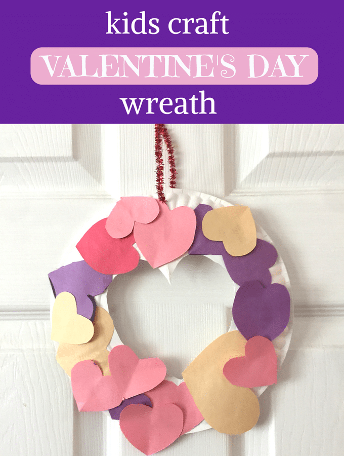 Sweet and simple Valentines Day craft for kids that Mom will cherish forever!
