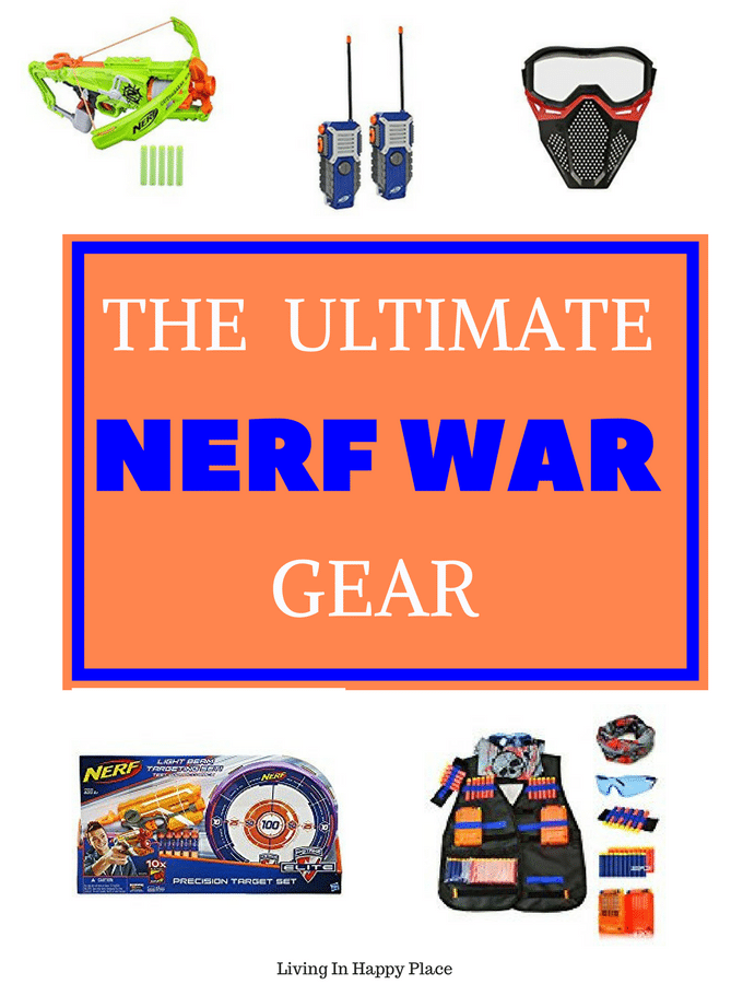 Coolest Nerf war accessories to turn your backyardbattle into theultimate Nerf War!