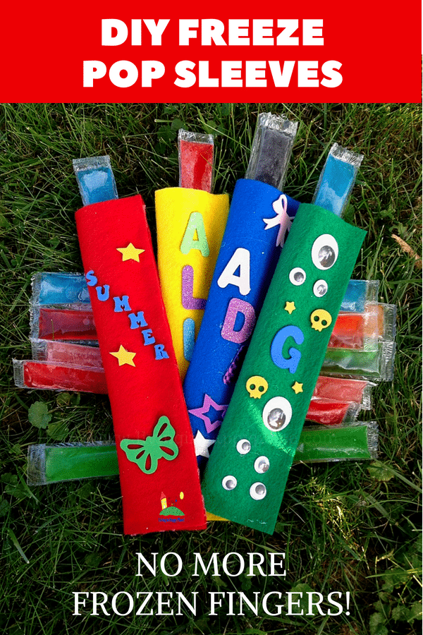 DIY Popsicle Holder Craft. Fun and functional activity for kids and Moms!