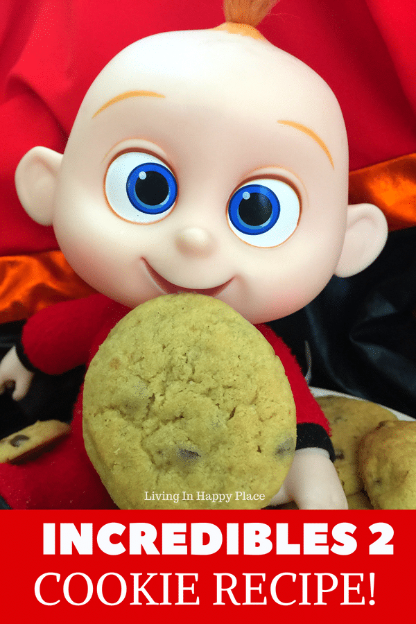 Jack Jack S Incredibles Cookie Recipe From Disney S Incredibles 2