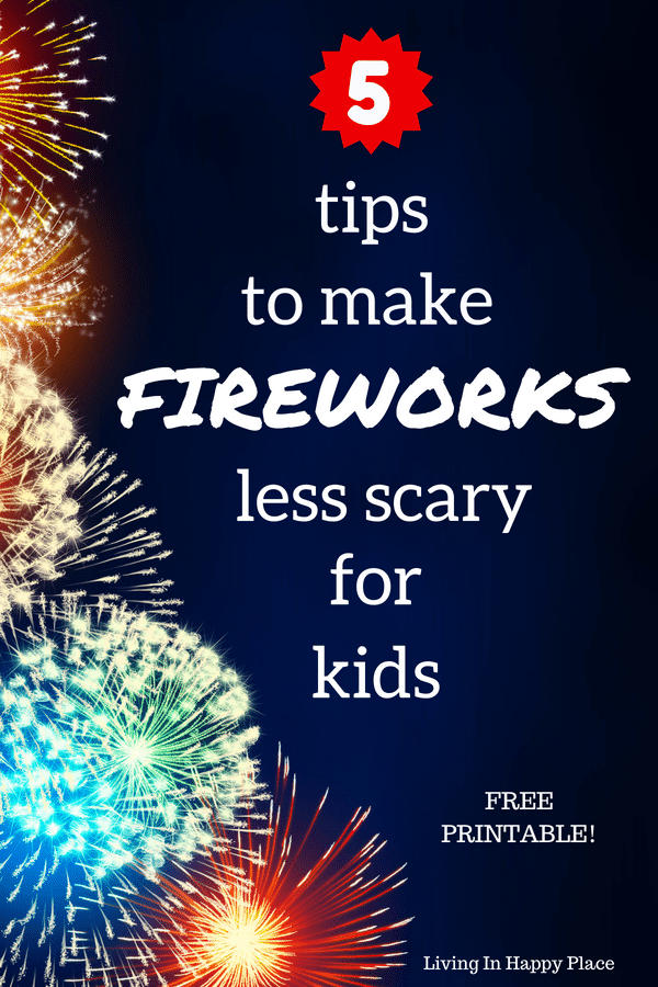 fireworks less scary, tips for taking kids to the fireworks