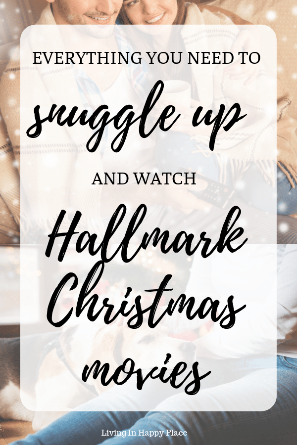 everything you need to snuggle up and watch Hallmark Christmas movies