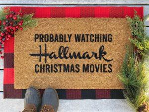hallmark moves door mat