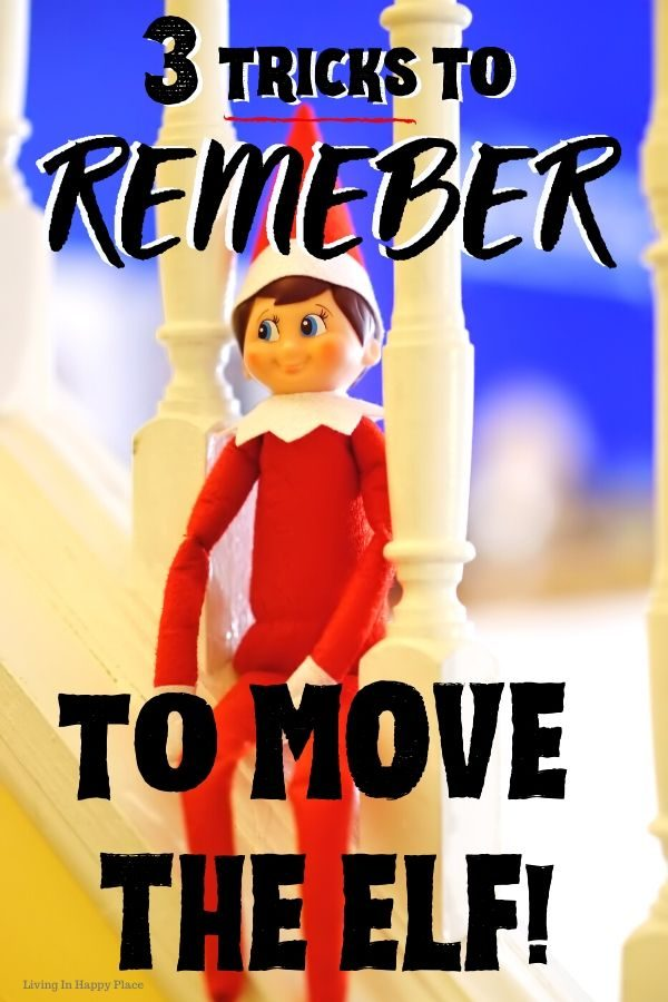 3 easy ways to remember to move the Elf on the Shelf (and save Christmas)