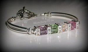 mother's bracelet birthstones