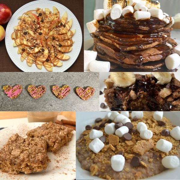 breakfast ideas collage