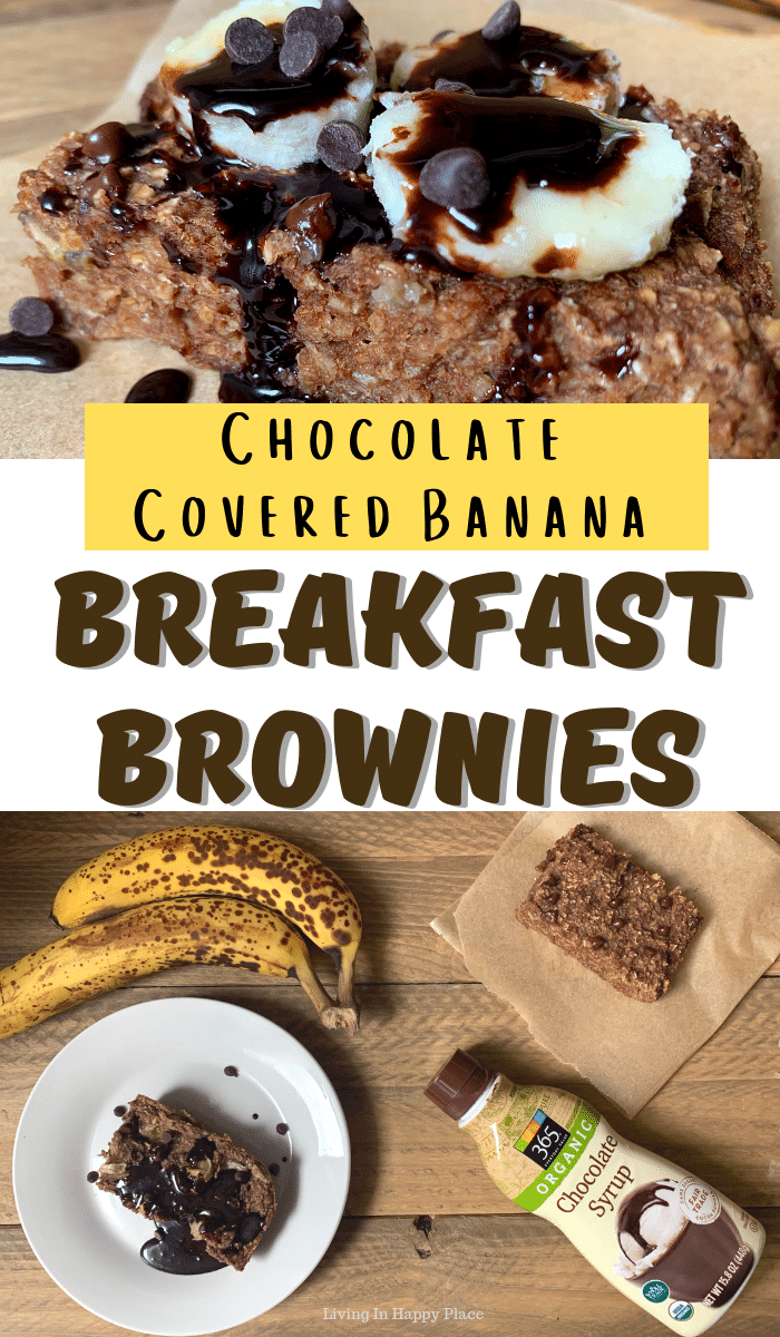 Chocolate Covered Banana Brownies breakfast ideas