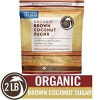 Big Tree Farms Organic Brown Coconut Sugar, Vegan, Paleo, Gluten-Free, Non-GMO, Low Glycemic, Unrefined and Fair Trade, Natural Sweetener, 2 Pound (Packaging May Vary)