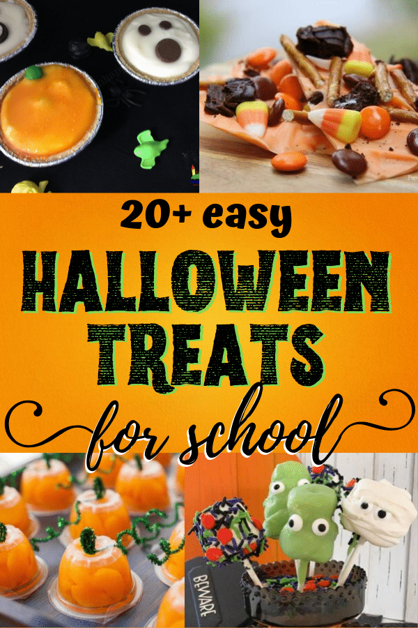 easy Halloween treats for school