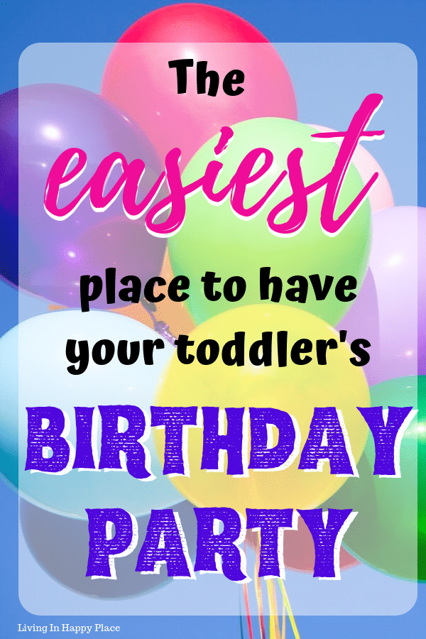 The best toddler birthday party place that both toddlers and parents will love!