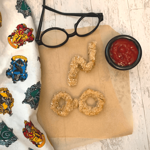 Harry Potter inspired chicken nuggets!