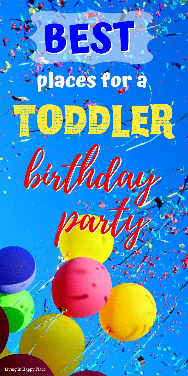 toddler birthday party places