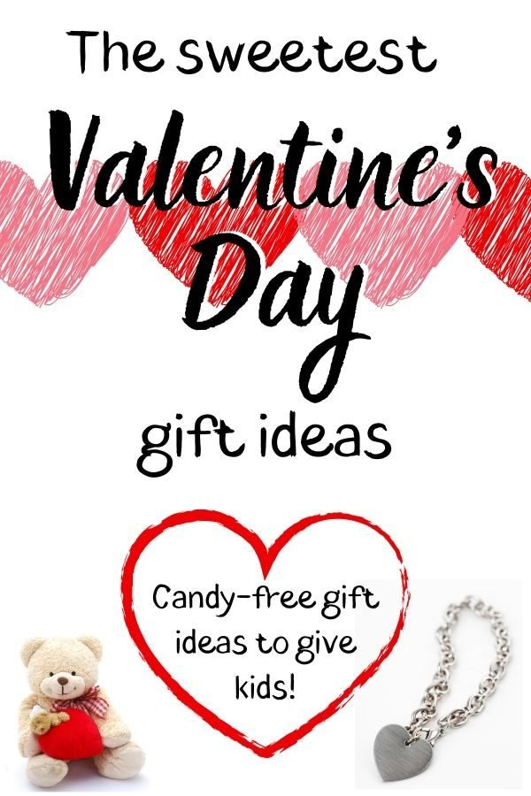 Valentine's Day gift ideas for kids! Candy-free ideas!