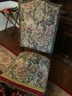 vintage Italian dining room table and chairs Renaissance revival