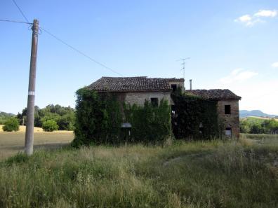 Farm buildings in hamlet