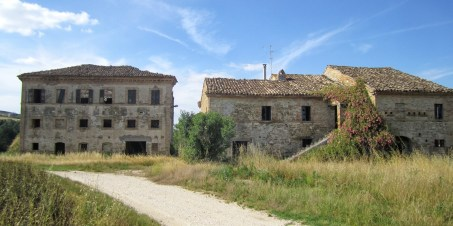 Main palazzo and farmhouses