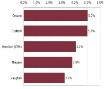 Business Plan data presented in the Cultural Mapping Summary Report, Niagara Region, 2011