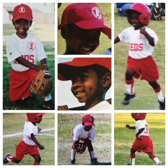 Brandon Collier - 5 year old T-baller