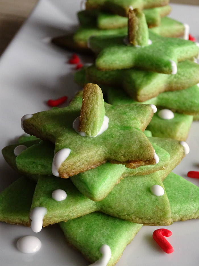Holiday Sugar Cookie Trees