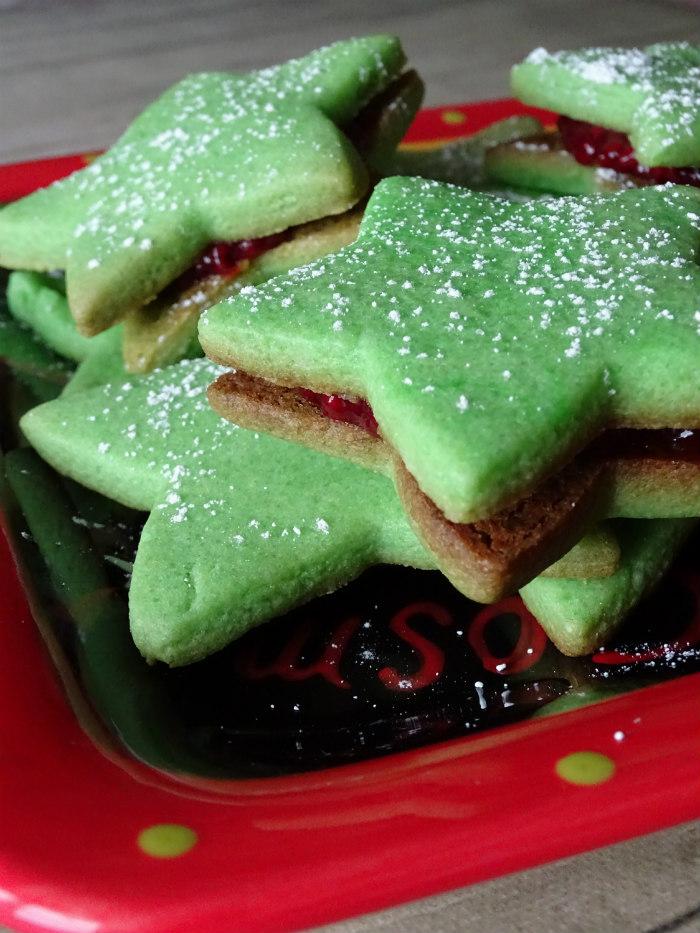 Jam-Filled Sugar Cookie Stars