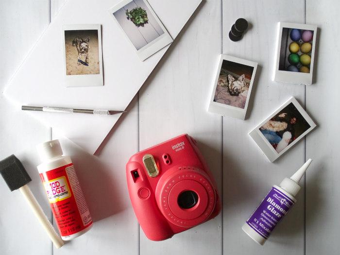 DIY Instax Mini Photo Magnets