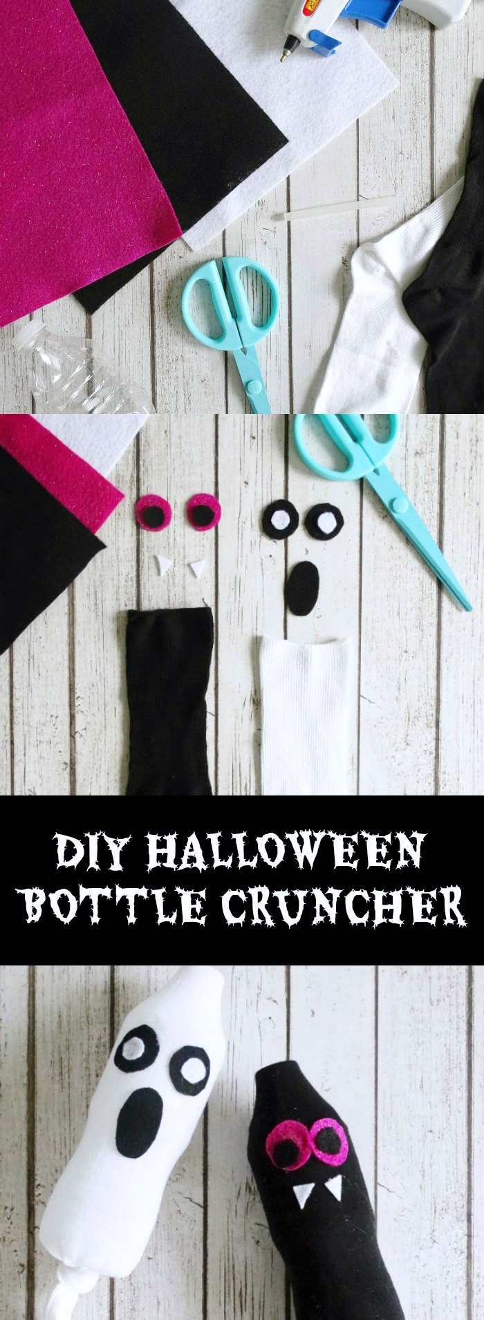 DIY Halloween Bottle Crunchers