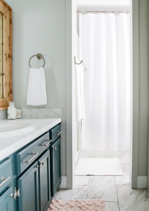 Primary Bathroom Refresh Reveal