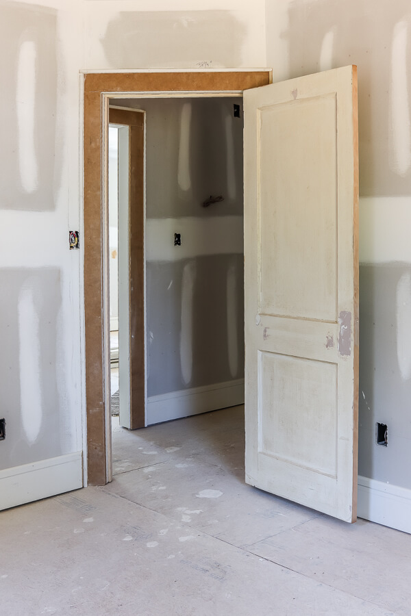 guest room in investment property flip house