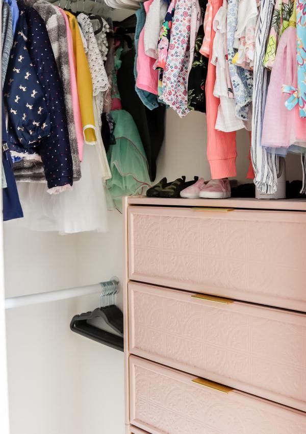 Girls' Shared Closet Reveal