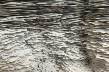 Get Rid of Paper Clutter Once and For All #declutter