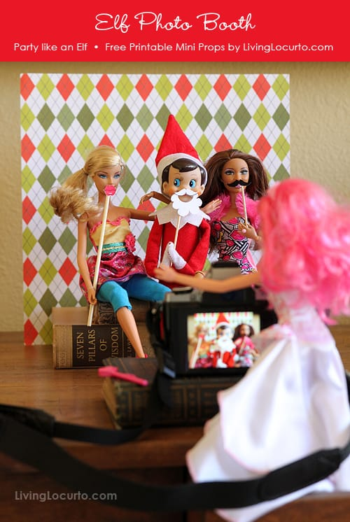 photo relating to Elf on the Shelf Printable Props named Elf upon the Shelf Printable Picture Booth Props!~ - Suggestions versus a