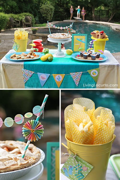 The Best Pool Party Ideas Summer Flip Flop Cookies