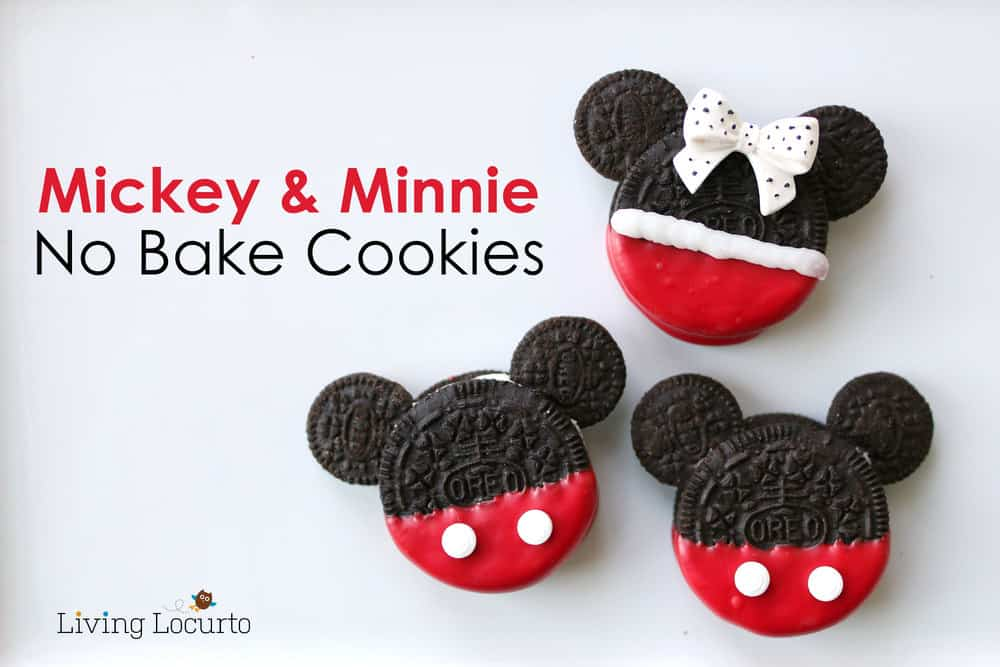 Mickey And Minnie Mouse Cookies Cute Disney Treats