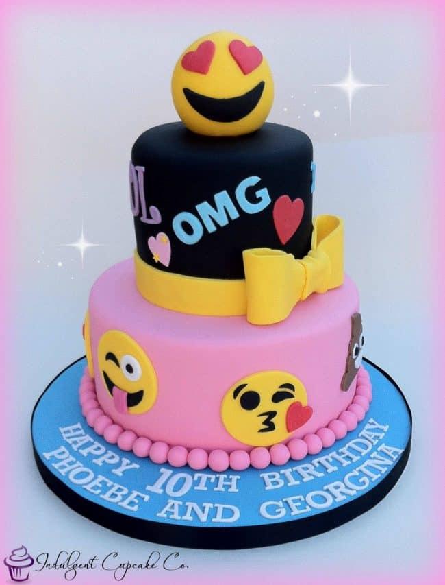 The Best Emoji Cakes Emoji Dessert Party Ideas