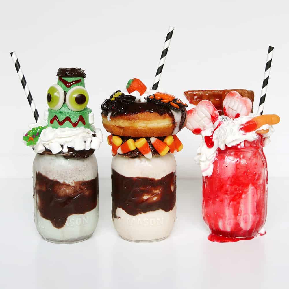 Halloween Milkshake Fun Halloween Food Recipes