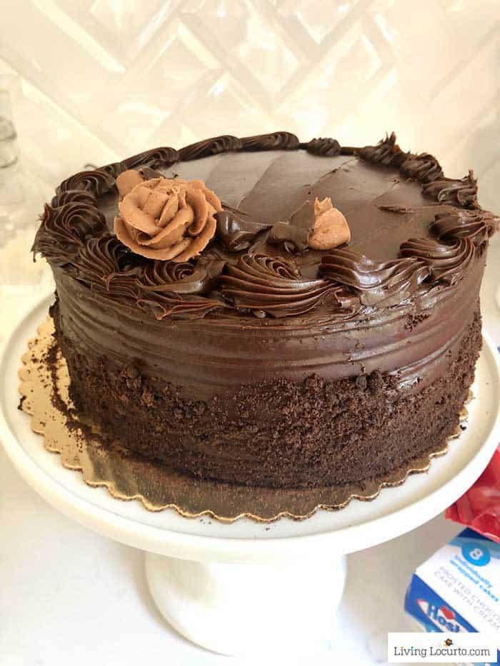 Ultimate Chocolate Birthday Cake - Living Locurto