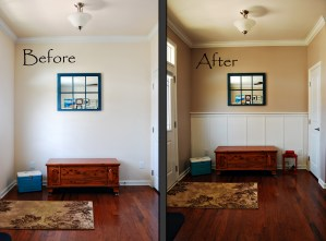 Living Room Makeover Part 1: Board and Batten