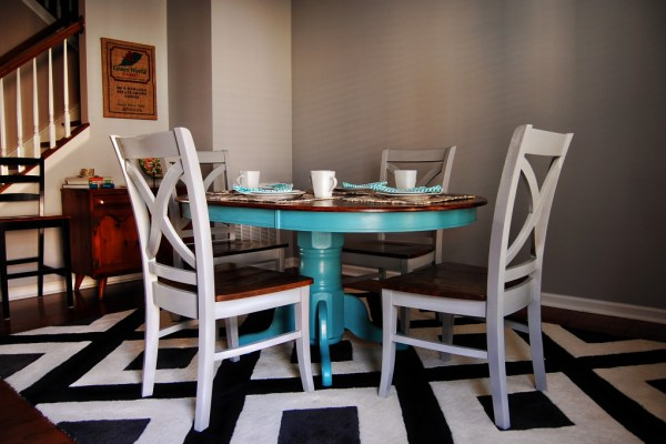 Living on Saltwater Dining Room After