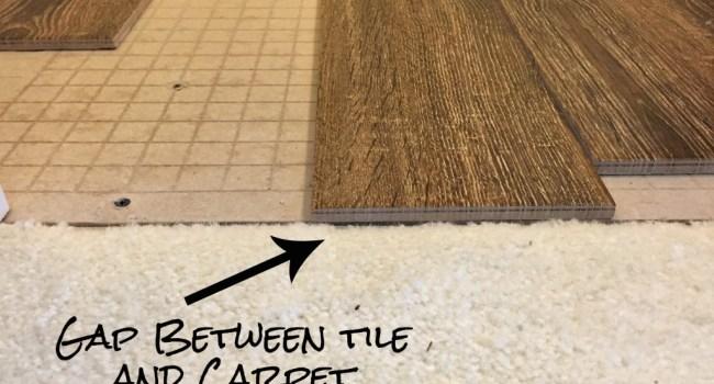 Living on Saltwater - Guest Bathroom Tiling - Tile and Carpet Gap