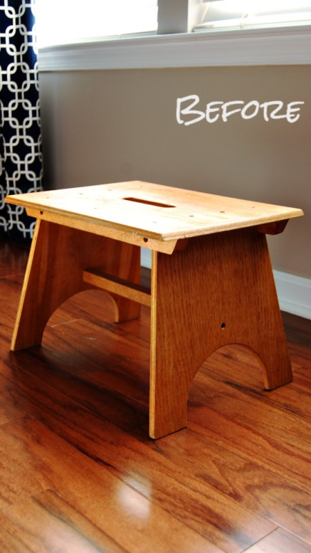 Living on Saltwater - Someday Projects - Stool Before