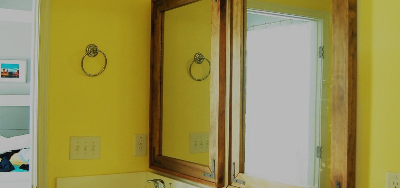 Living on Saltwater - Rustic Industrial DIY Mirrors