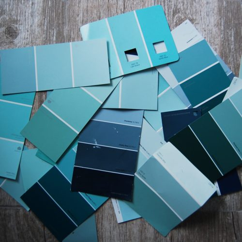 Living on Saltwater - Master Bathroom Paint Colors