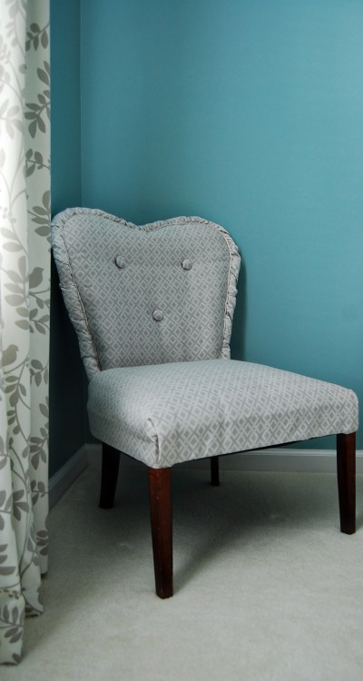 Living on Saltwater - Chair Upholstery