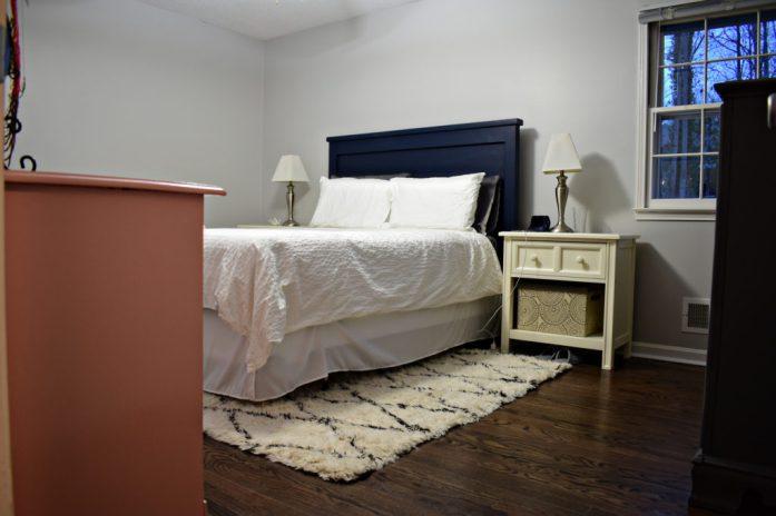 Living on Saltwater - Master Bedroom progress