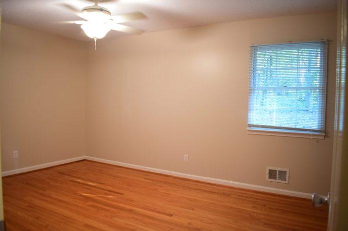 Living on Saltwater - Master Bedroom Before