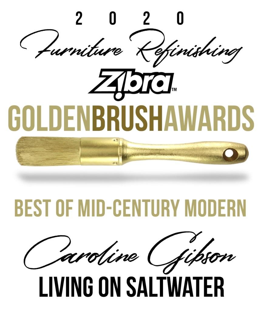Living on Saltwater Zibra 2020 Golden Brush Awards Mid Century Modern