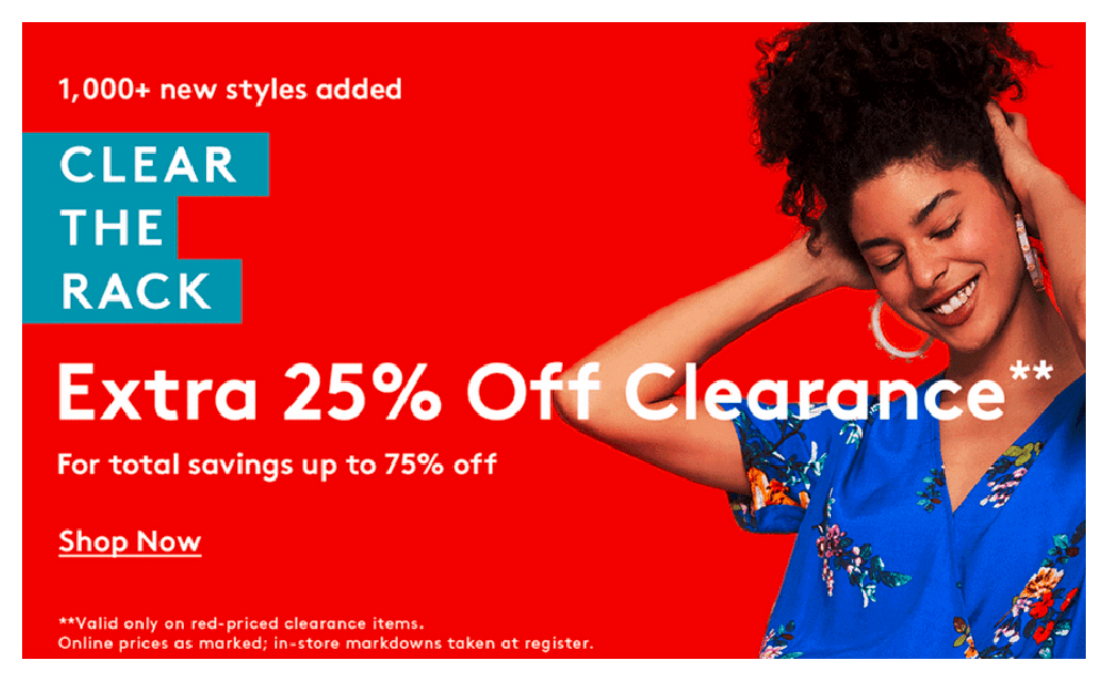 last day up to 90 off clear the rack clearance sale extra 25 off at nordstrom rack adidas ugg more living rich with coupons