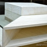 100x100cm Square Travertine Marble Coffee Table Louvre