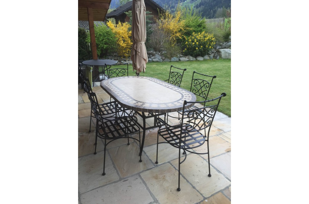 Dining Wrought Iron Table
