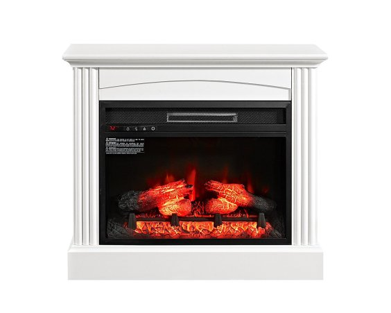"""Whalen Furniture Fully Assembled Chesapeake 32"""" Mantel Electric Fireplace"""